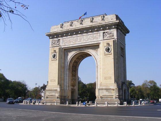 arco de triunfo Bucarest