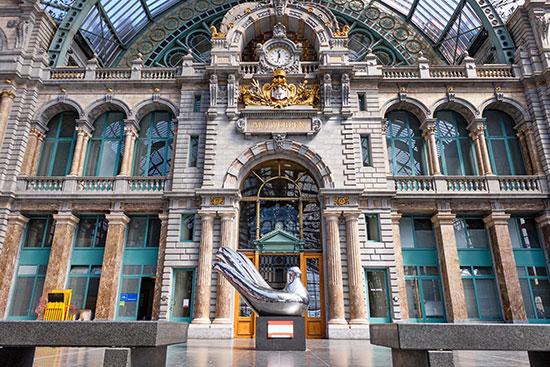 Estación central Amberes
