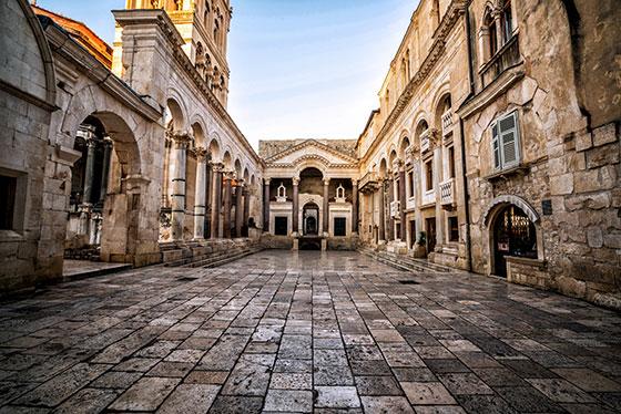 palacio diocletian
