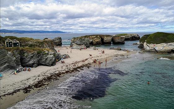Playa das illas
