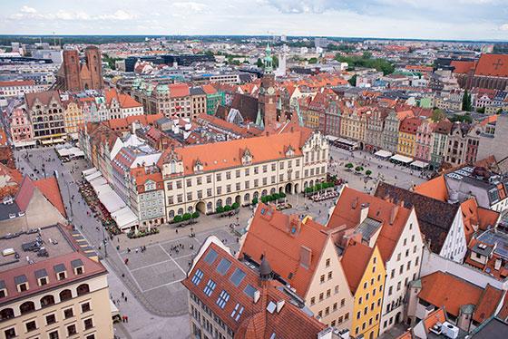 plaza del mercado - Wroclaw