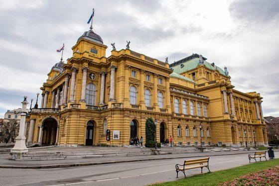 Teatro nacional de Zagreb
