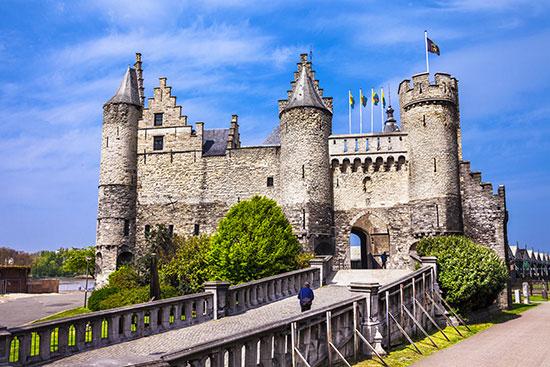 castillo het steen - Amberes