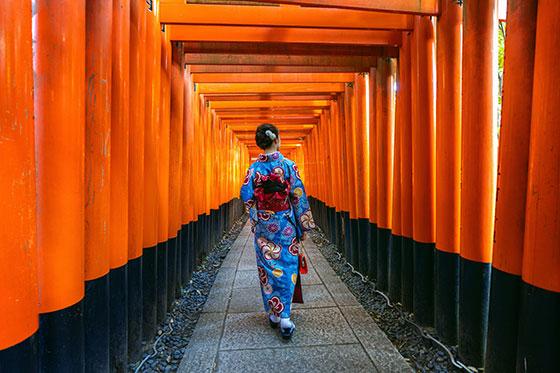 Entrada del Fushimi Inari-Taisha