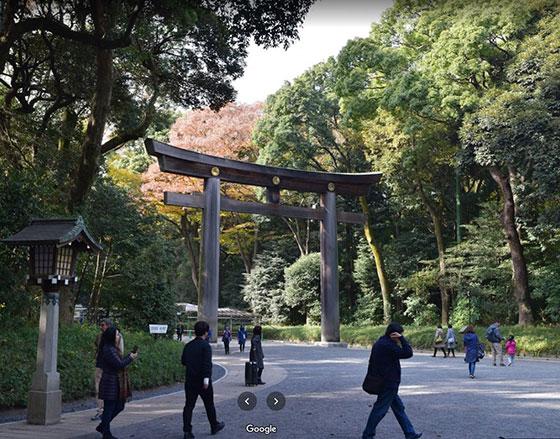 Entrada del parque Yoyogi