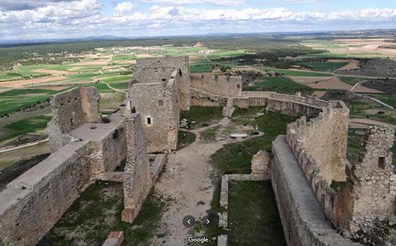 Fortaleza califal de Gormaz interior