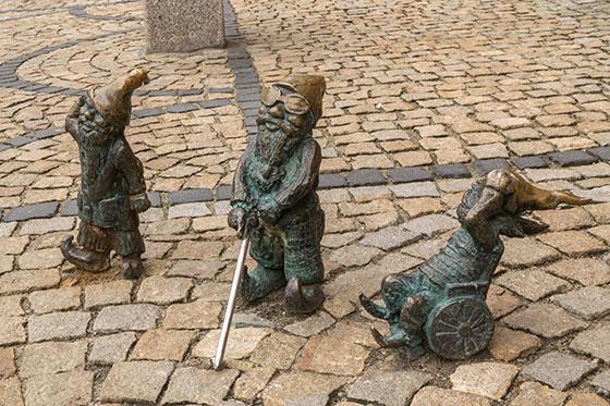 Los gnomos de Wroclaw