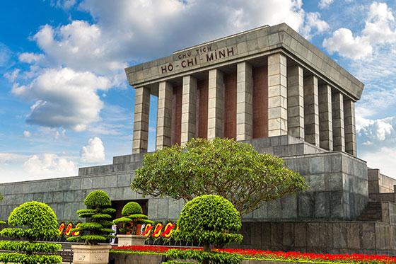 Mausoleo de Ho Chi Min - Hanoi