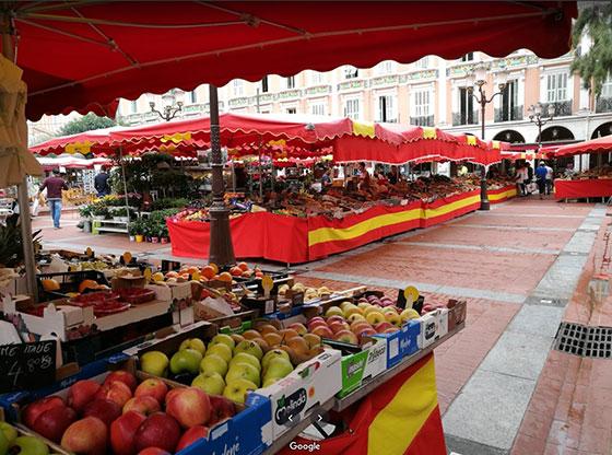 Mercado de la Condamine