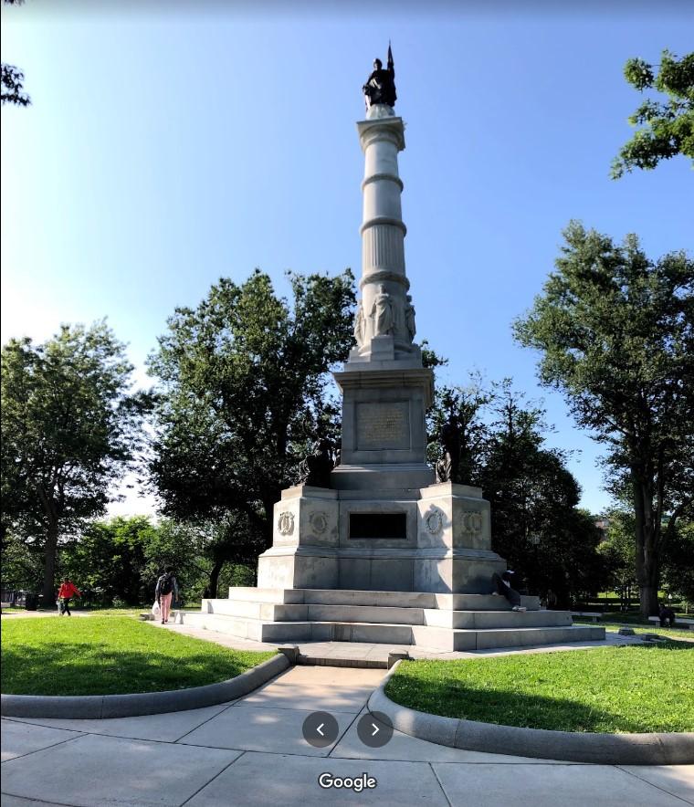 Monumento a los Soldiers y Sailors