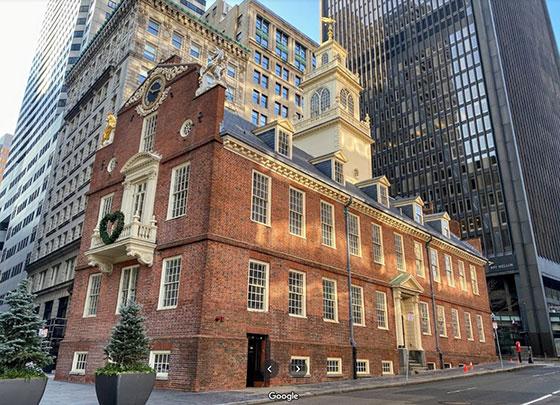 Sitio de la masacre de Boston