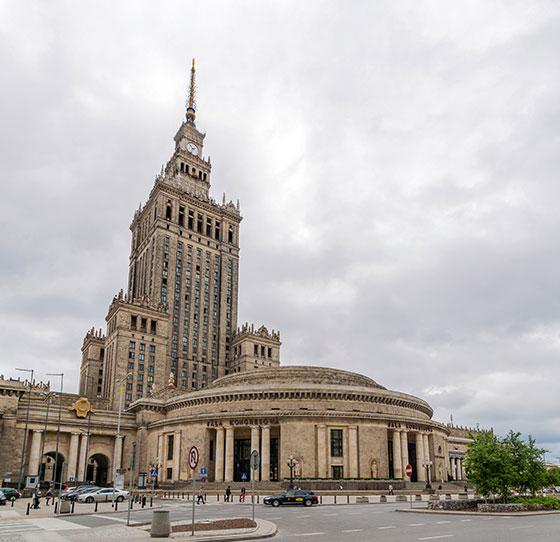 Palacio de Cultura y Ciencia - Varsovia