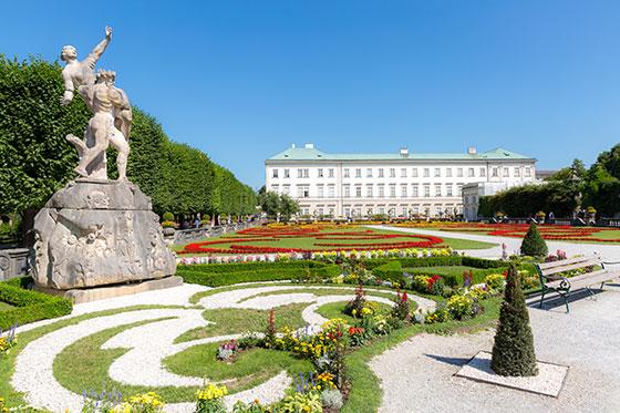palacio y jardin de mirabell