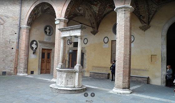 Palacio Chigi Saracini por dentro