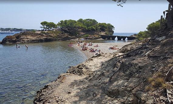 Playa Es Sortell