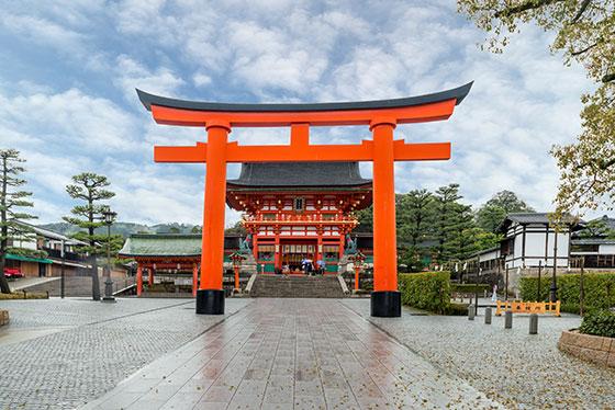 Puerta del Fushimi Inari-Taisha