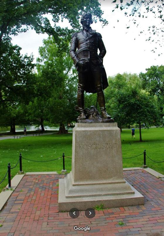 Estatua de Tadeusz Kosciuszko